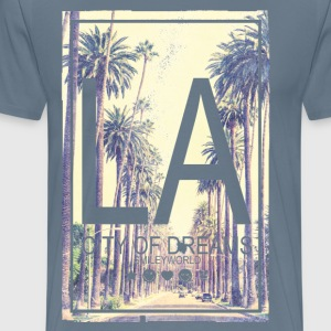 SmileyWorld Los Angeles City Of Dreams - Men's Premium T-Shirt