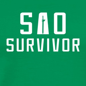 SAO Survivor - Men's Premium T-Shirt
