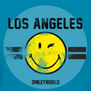SmileyWorld Los Angeles Winking Smiley - Women's T-Shirt