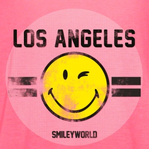 SmileyWorld Los Angeles Winking Smiley - Women's Flowy Tank Top by Bella