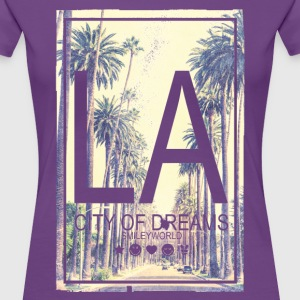 SmileyWorld Los Angeles City Of Dreams - Women's Premium T-Shirt