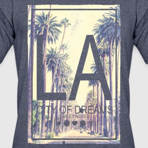 SmileyWorld Los Angeles City Of Dreams - Men's 50/50 T-Shirt