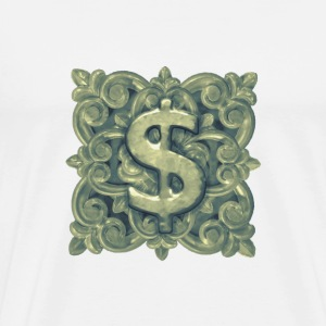 Money Symbol Ornament - Men's Premium T-Shirt