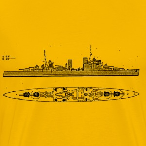 London Battleship - Men's Premium T-Shirt