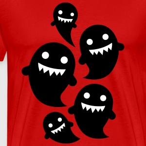 ghosts T-Shirts - Men's Premium T-Shirt