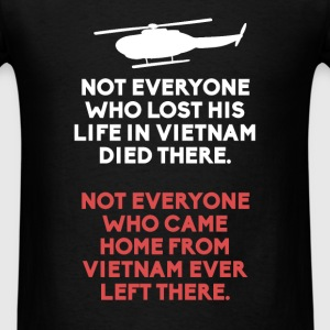 Vietnam Veteran - Not everyone who lost his life i - Men's T-Shirt