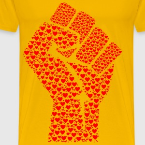 Fist Of Love - Men's Premium T-Shirt