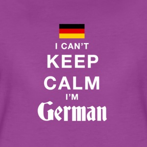I CAN'T KEEP CALM - i'am german T-Shirts - Women's Premium T-Shirt