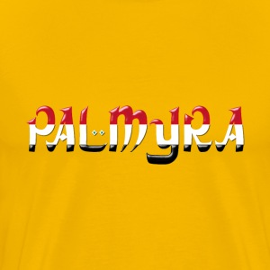 Palmyra Typography Enhanced - Men's Premium T-Shirt