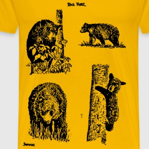 Bear Grouping - Men's Premium T-Shirt