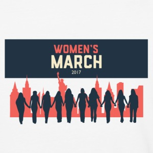 Women's March on New York - Baseball T-Shirt