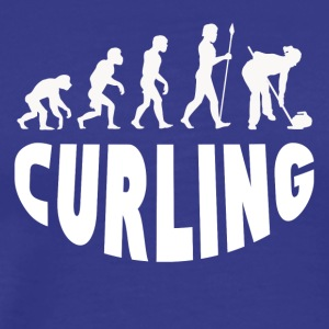 Curling Evolution - Men's Premium T-Shirt