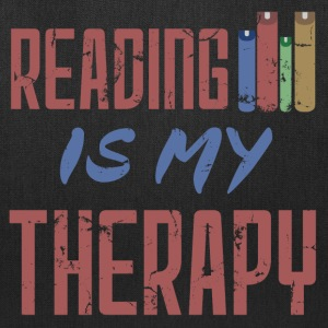 Reading Is My Therapy - Tote Bag