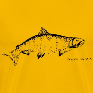 Chinook Salmon - Men's Premium T-Shirt