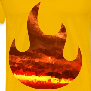 Magma Fire - Men's Premium T-Shirt