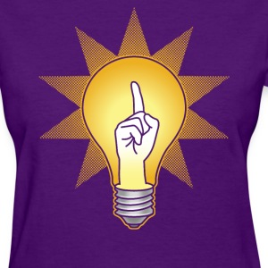 Bright idea for girls - Women's T-Shirt