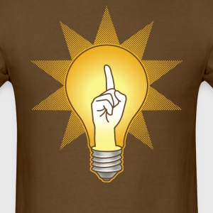 Bright idea for guys - Men's T-Shirt