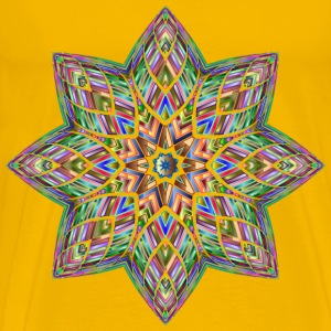 Chromatic Octagonal Ornament - Men's Premium T-Shirt