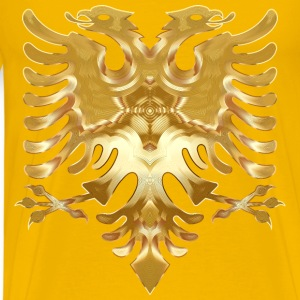 Golden Double Headed Eagle - Men's Premium T-Shirt