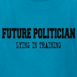 FUTURE POLITICIAN Kids' Shirts - Kids' T-Shirt