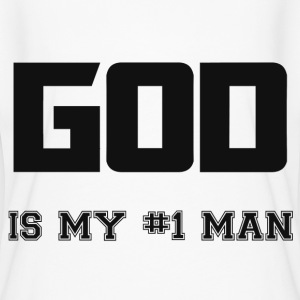GOD IS MY MAN T-Shirts - Women's Flowy T-Shirt