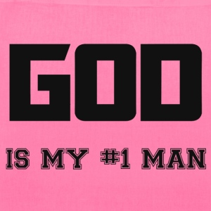 GOD IS MY MAN Bags & backpacks - Tote Bag