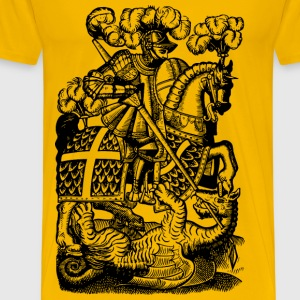 Slaying the dragon - Men's Premium T-Shirt