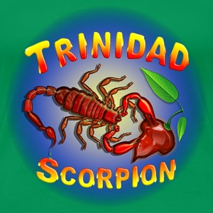 Trinidad Scorpion Red. - Women's Premium T-Shirt