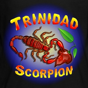 Trinidad Scorpion Red. - Kids' Premium Long Sleeve T-Shirt