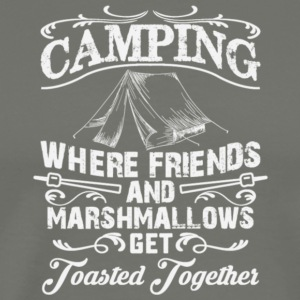 Camping Get Toasted Together T Shirt - Men's Premium T-Shirt