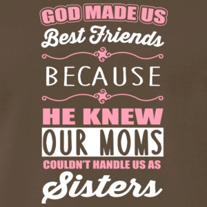God Made Us Best Friends T Shirt - Men's Premium T-Shirt
