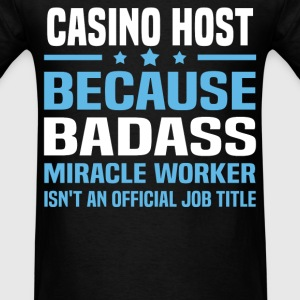 Casino Host Tshirt - Men's T-Shirt