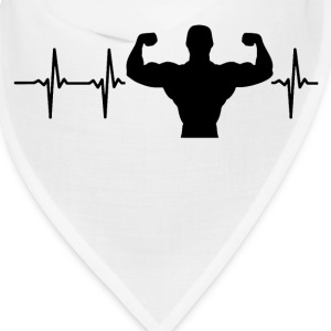 My heart beats for bodybuilding Caps - Bandana