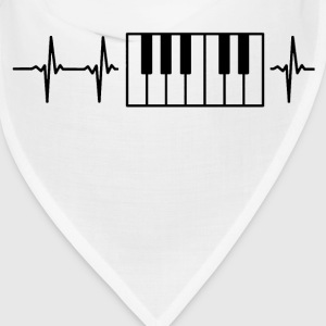 My heart beats for pianos Caps - Bandana