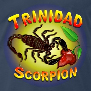 Trinidad Scorpion Black T-Shirts - Men's Premium T-Shirt