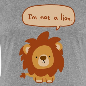 Lyin' Lion - Women's Premium T-Shirt