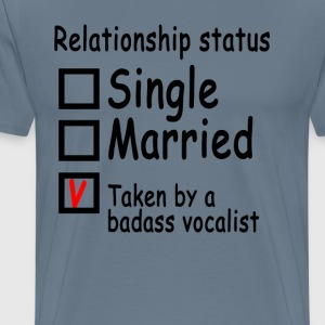 personalized_relationship_status_vokalis - Men's Premium T-Shirt