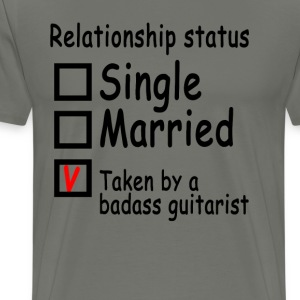 personalized_relationship_status_guitari - Men's Premium T-Shirt