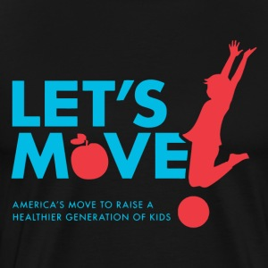 let's Move - Men's Premium T-Shirt