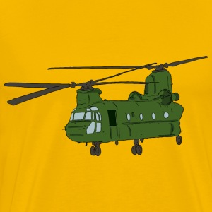 Chinook Helicopter 1 - Men's Premium T-Shirt