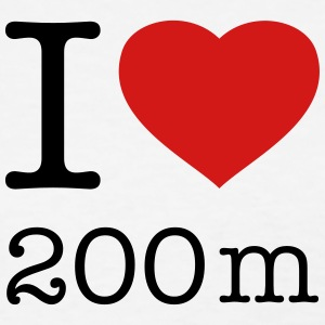 I LOVE 200 m - Women's T-Shirt
