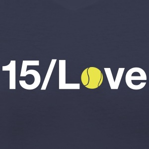 15/Love - Women's V-Neck T-Shirt