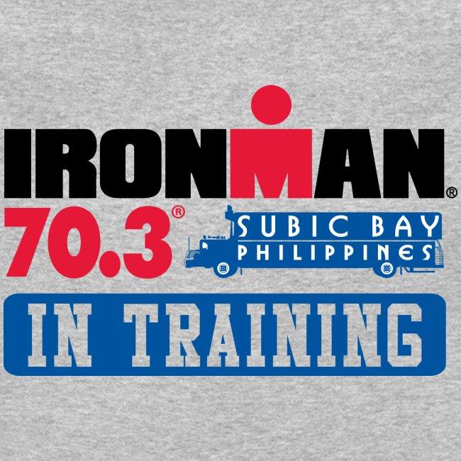 IRONMAN 70.3 Subic Bay Philippines In Training Men's Crewneck Sweatshirt