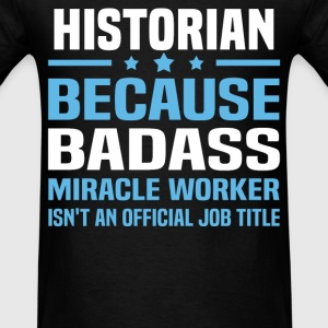 Historian Tshirt - Men's T-Shirt
