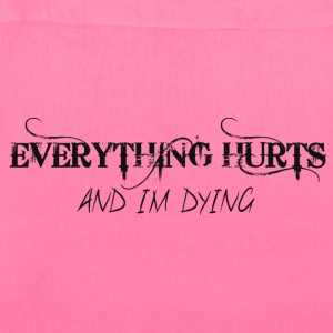 EVERYTHING HURTS Bags & backpacks - Tote Bag