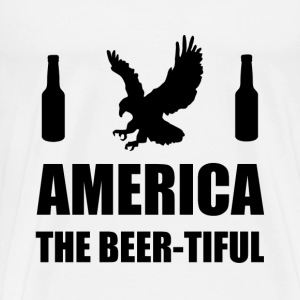America The Beertiful - Men's Premium T-Shirt