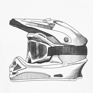 Helmet Long Sleeve Shirts - Men's Premium Long Sleeve T-Shirt