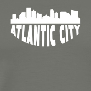 Atlantic City NJ Cityscape Skyline - Men's Premium T-Shirt