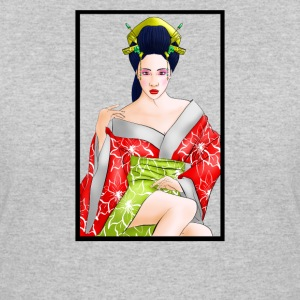 Red Lotus Geisha - Women's 50/50 T-Shirt