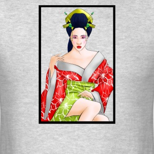 Red Lotus Geisha - Men's T-Shirt